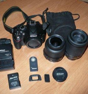 Камера Nikon D5200