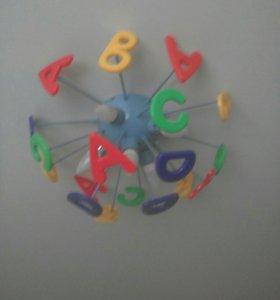 Люстра в детскую комнату