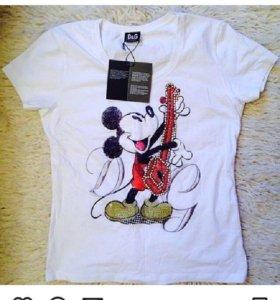 "Женская футболка ""D&G🌺"