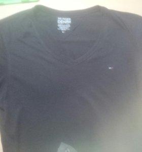 Оригинальная футболка Tommy Hilfiger.Смотреть Фото