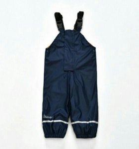 Непромокаемые брюки на флисе новые
