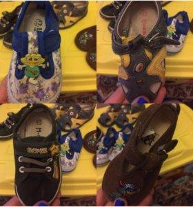 Обувь детская, весна - лето, 21