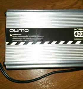 Инвертор автомобильный 12-220 вольт 400 Вт