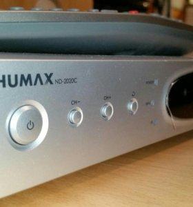Ресивер ТВ dv3 Humax nd-2020c пультом