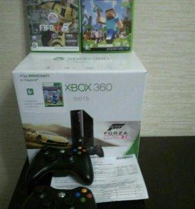 Xbox 360 на 500 гб