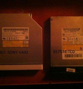 дисководы от ноута sony-vaio и HP