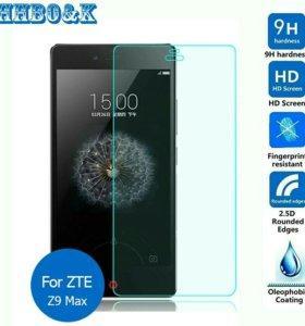 Защитное стекло на zte nybia z9 max