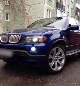 BMW X5 2005г 4.8л