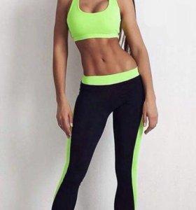 Спортивный костюм женский для занятия фитнесом
