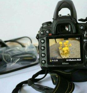 Nikon D 7000 18-55  kit VR
