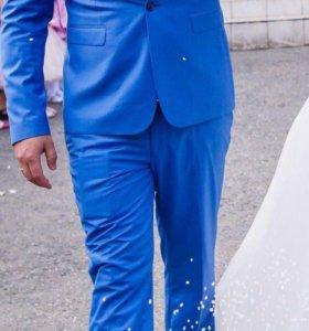Свадебный костюм, рубашка, бабочка