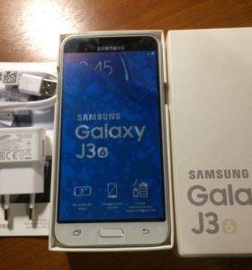 Телефон Samsung Galaxy J3(6) Белый 8 Гб