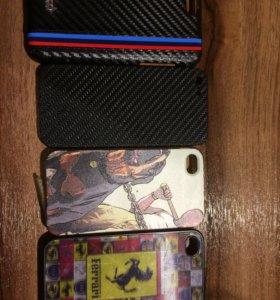 Чехлы для iPhone 5s/5/4/SE