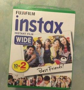 Картриджи Instax Wide(20 кадров)