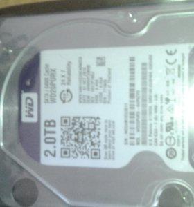 Жесткий диск 2Tb новый