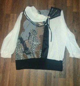 Блузка 48-50 размер