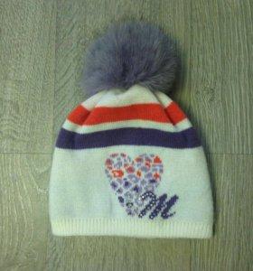 Зимняя шапка, 55 см. Вокруг головы