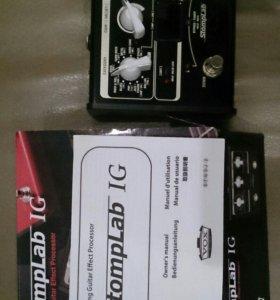 Электро гитара, комбо усилитель, процессор