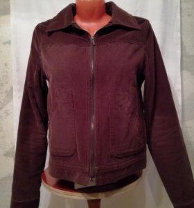Куртка утепленная вельветовая