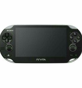 PS Vita slim 16 GB+8игр+аксесуары