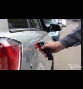 Проверка лакокрасочного покрытия авто толщиномером