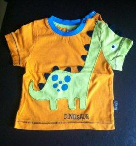 Классная футболка Crockid