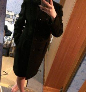 Драповое новое пальто