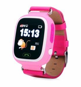 SmartBabyWatch Q80 pink