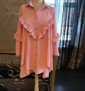 Новое платье рубашка.