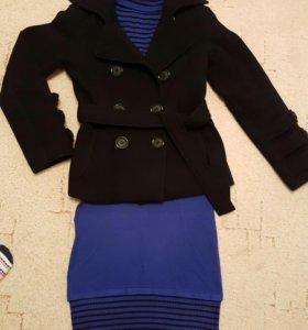 Комплект пальто+платье
