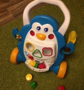 Ходунки для малышей Chicco Пингвин