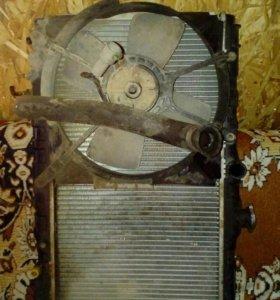 Радиатор с вентилятором Toyota