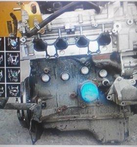 Двигатель Nissan Primera P12 1.6 QG16DE