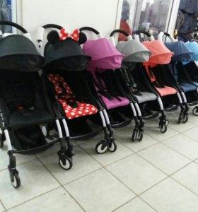 Новые прогулочные коляски babytime аналог Уоуо