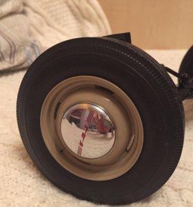Передняя подвеска от сборной модели М20 (ДеА)