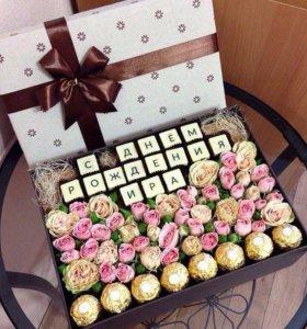 Подарок 🎁 шоколадные буквы