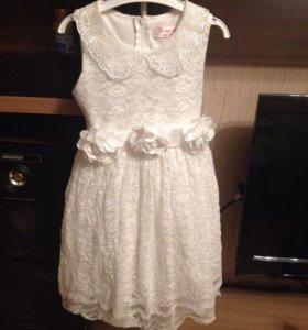 Продам платье на девочку , рост 116