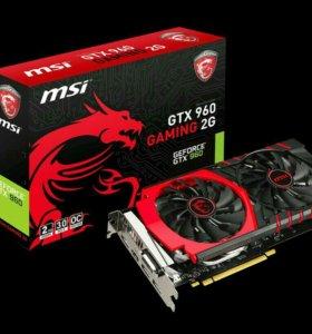 MSI gtx 960 2gb gaming ddr5