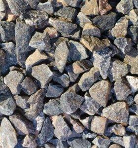 Щебень, бой кирпича, песок, грунт с доставкой