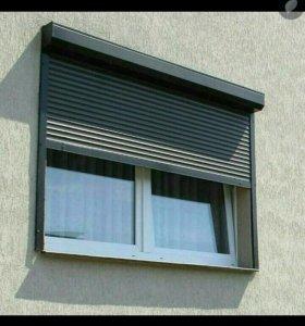 Ролставни на окна