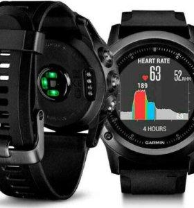 Cпортивные часы Fenix 3 Sapphire HR