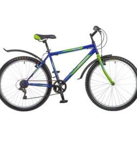 """Велосипед Foxx Lynxx 26 (2017), рама 18"""", синий"""