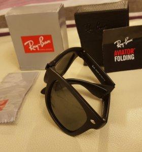 Солнцезащитные очки Ray-Ban AVIATOR FOLDING