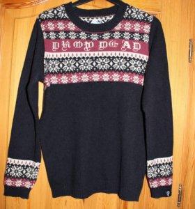 Вязаный свитер Drop Dead