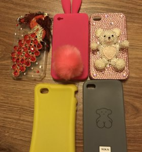 Чехлы на Айфон 4 и 4S