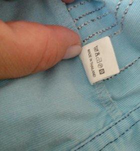 Джинсы и рубашка джинсовая