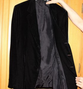 Велюровый пиджак Giorgio Armani