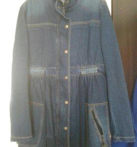 джинсовая куртка для беременных