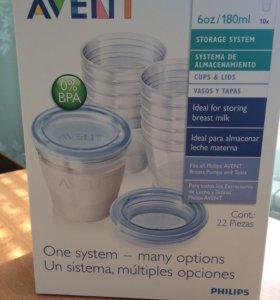 Набор контейнеров для хранения молока Avent