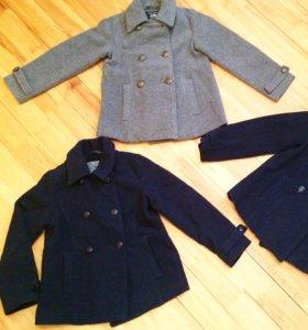 Новые шерстяные пальто